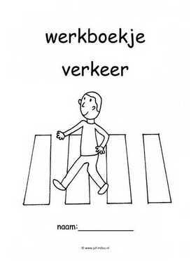 Kleurplaat Rekenen Groep 5 Werkboekjes Verkeer Juf Milou